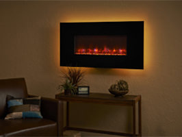 Electric Fireplace Wall Hung