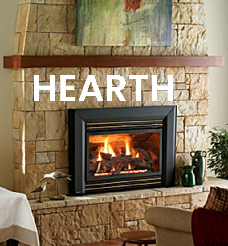 Home Button Hearth