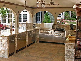 Danvers stainless steel cabinets