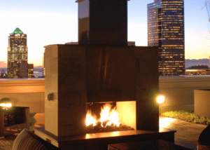 Mason Lite Outdoor Fireplace